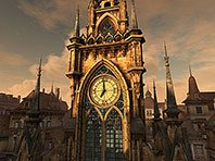Clock Tower 3D screensaver screenshot. Click to enlarge