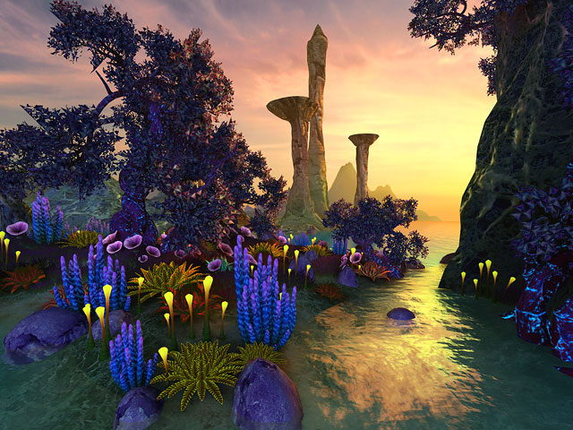 Faraway Planet 3D Screensaver – Amaze yourself by the ...