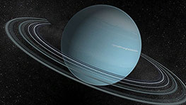 Uranus 3D Model - Planetarium 3D screenshot. Click to enlarge
