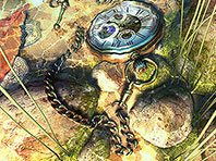 The Lost Watch II 3D screensaver screenshot. Click to enlarge
