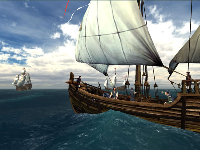 Voyage Of Columbus 3D Screen Saver Full Version
